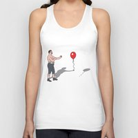 boxer Tank Tops featuring Boxer by Josh Ross