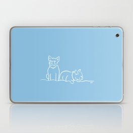 City Dogs {Frenchies} Laptop & iPad Skin
