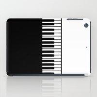 piano iPad Cases featuring Piano by Macrobioticos
