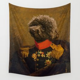 Poodle General Portrait Painting | Dog Lovers! Wall Tapestry