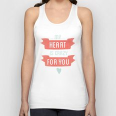Crazy For You Unisex Tank Top