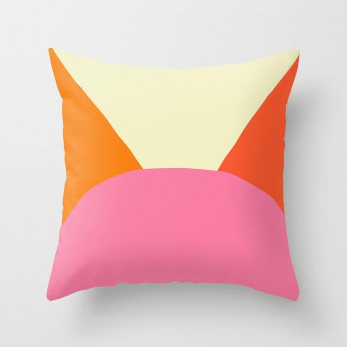 Deyoung Sixties Throw Pillow
