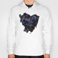 lovers Hoodies featuring LOVERS by i am gao