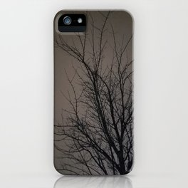Darkness Falls iPhone Case