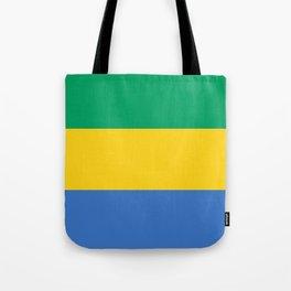 Gabon Flag Tote Bag