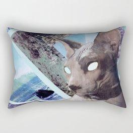 Nude Cat Rectangular Pillow