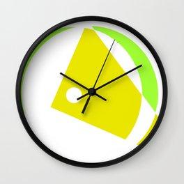 Minimalism             by Kay Lipton Wall Clock