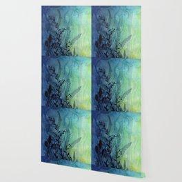 Underwater Ocean Foliage Wallpaper