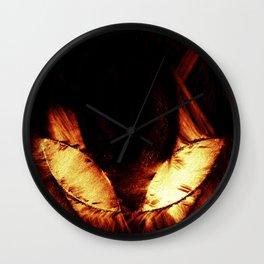 Alien Symbol Wall Clock