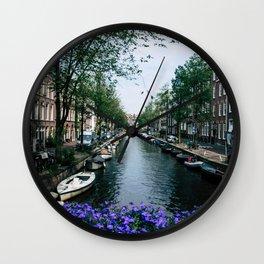 Charming Amsterdam Wall Clock