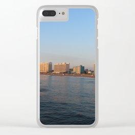 Virginia Beach Clear iPhone Case