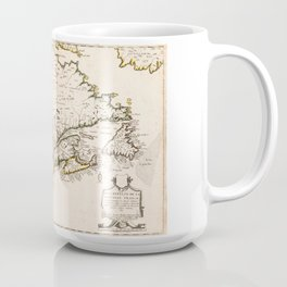 Map of Canada (Nouvelle France) 1643 Coffee Mug