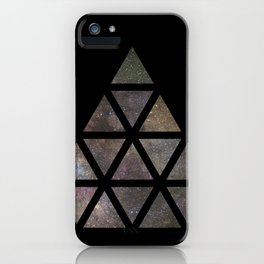 Galaxy Triangular Multicolor iPhone Case