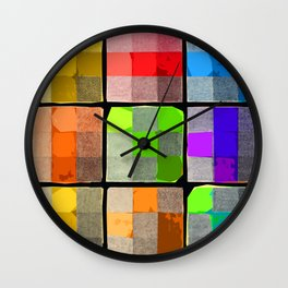 Tender Buttons Wall Clock