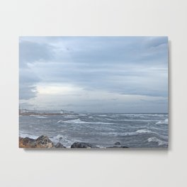 Coastal Storm Surge Metal Print