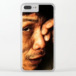 Vietnamese Man Clear iPhone Case
