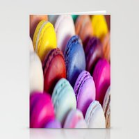 macaroons Stationery Cards featuring Macaroons by rosita