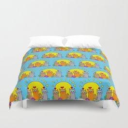 Sunshine Cats Duvet Cover