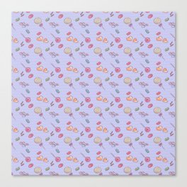 Candy Pattern Canvas Print