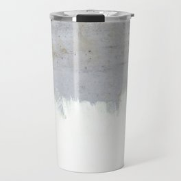 Painting on Raw Concrete Travel Mug