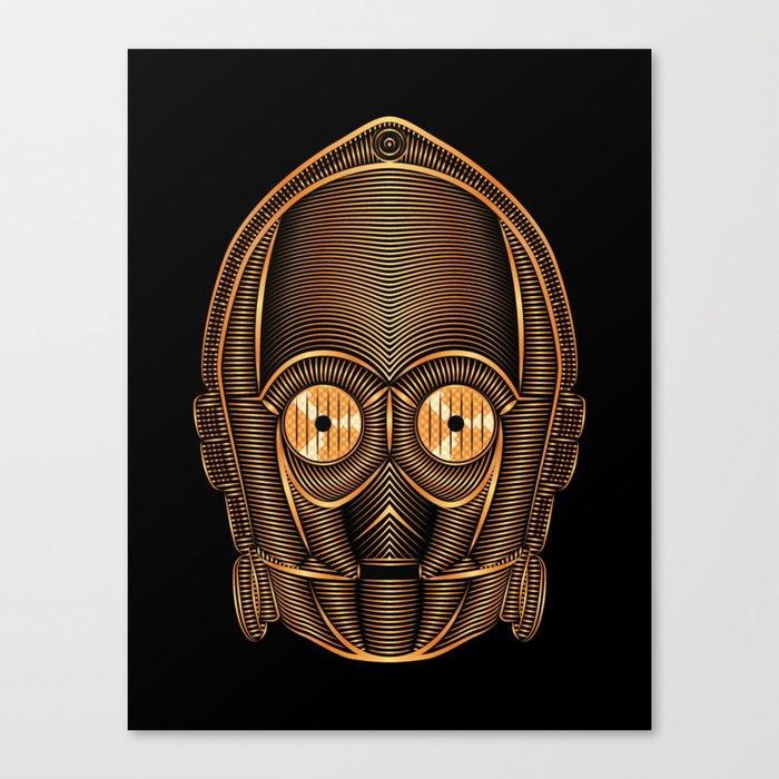 StarWars | C-3PO Canvas Print