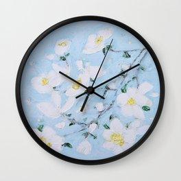 Dogwood Spring Wall Clock