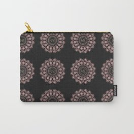 Rose Gold Mandala LOVE Pattern Carry-All Pouch