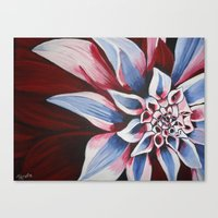american beauty Canvas Prints featuring American Beauty by TRekito