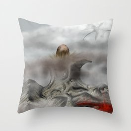 Mother is Watching Throw Pillow