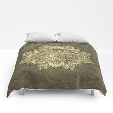 Wonderful mandala Comforters