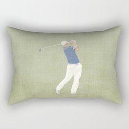 SUMMER GAMES / Golf Rectangular Pillow