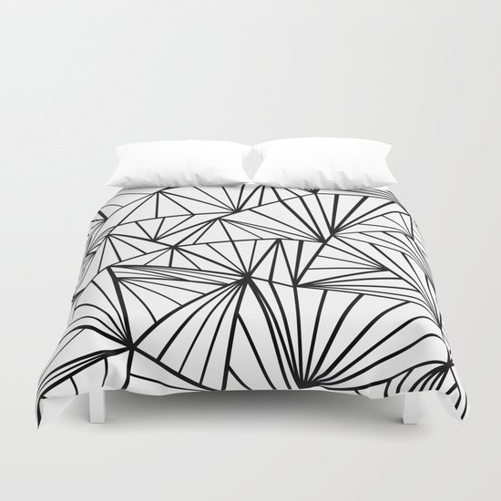 Ab Fan Zoom Invert  Duvet Cover