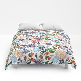 Springtime Floral Comforters