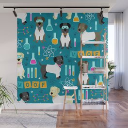 Lab Assistants Wall Mural