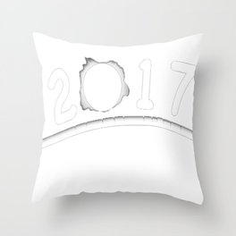 total eclipse 2017 T-Shirt Throw Pillow