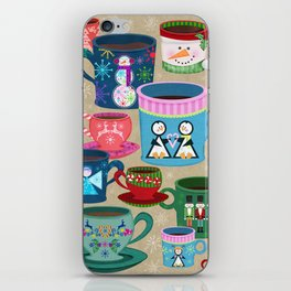 Fa La La La Latte iPhone Skin