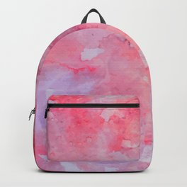 watercolor_red Backpack