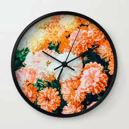 Garden Song #photography #nature Wall Clock