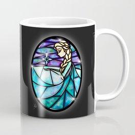 Stained Glass Elsa Coffee Mug