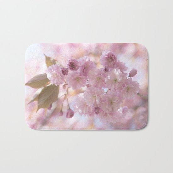 Pink Spring Cherryblossoms on #Society6 Bath Mat