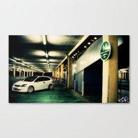 honda Canvas Prints featuring Honda civic by Keegan Rigby