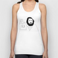kubrick Tank Tops featuring Stanley Kubrick by Sector 8