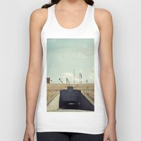 dwight Tank Tops featuring the dwight d eisenhower lock by Amanda Stockwell