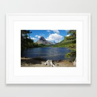 montana Framed Art Prints featuring Montana by Claudio Del Luongo