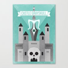 Castle Grayskull Canvas Print