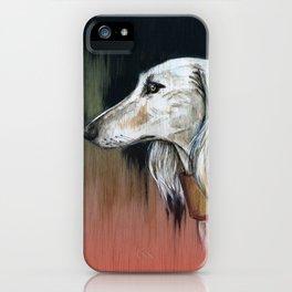 Saluki I - Illustrious dogs. iPhone Case