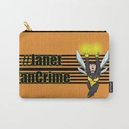 Janet Van Crime Carry-All Pouch