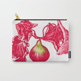 Branch of a fig tree in autumn Carry-All Pouch