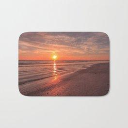 Sunburst at Sunset Bath Mat