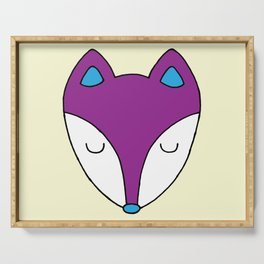 Fox face Serving Tray